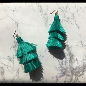 DESIGN LAB Turquoise Dangling Earrings